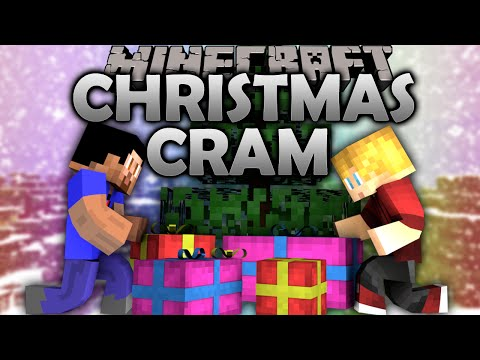 Minecraft CHRISTMAS CRAM #1 with Vikkstar & Lachlan (Minecraft Mini-Game)