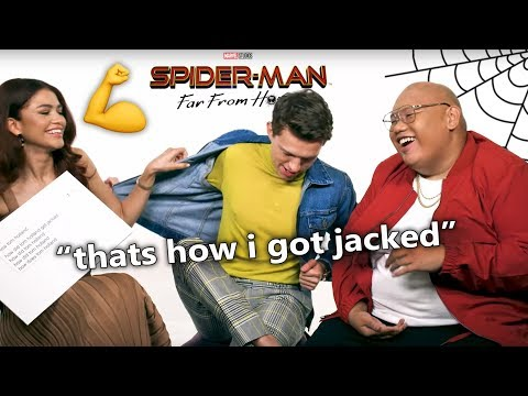 Tom Holland Far From Home Best Interview Moments