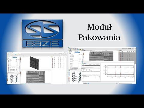 Automatyczne układanie mebli w paczki w programie Bazis - Moduł Pakowania
