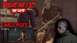 Friday the 13th the game - Gameplay 2.0 - Challenge 4 - Jason part 6