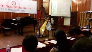 Đàn harp Bảo Trâm