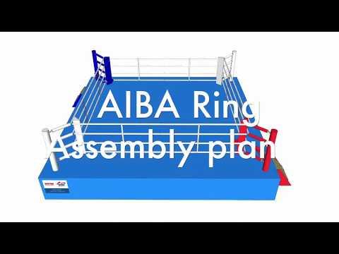 Боксерский ринг TOP TEN AIBA. Инструкция по сборке.