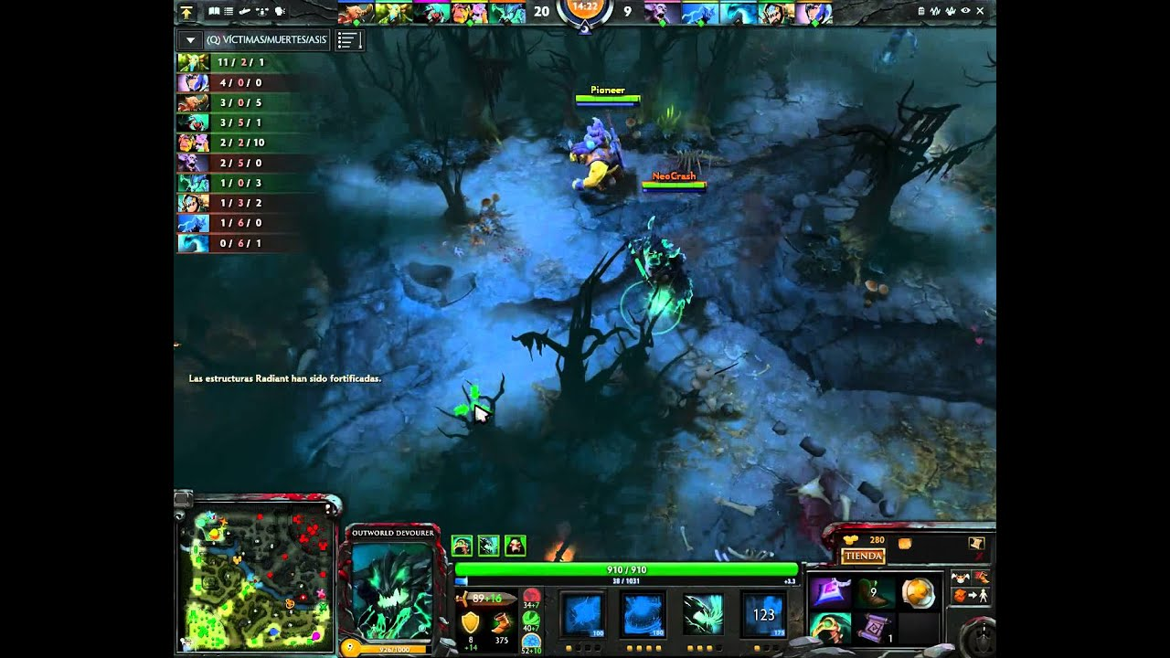 how to play outworld devourer