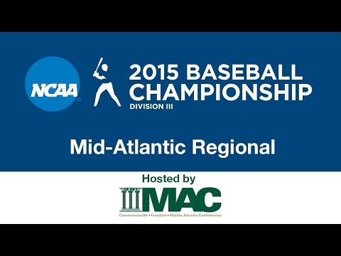 2015 NCAA DIII Mid-Atlantic Regional Baseball - Game 10