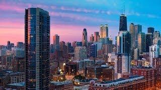 #725. Чикаго (США) (классное видео)(Самые красивые и большие города мира. Лучшие достопримечательности крупнейших мегаполисов. Великолепные..., 2014-07-03T02:36:08.000Z)