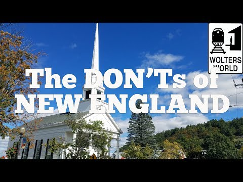 Top tourist destinations in new england