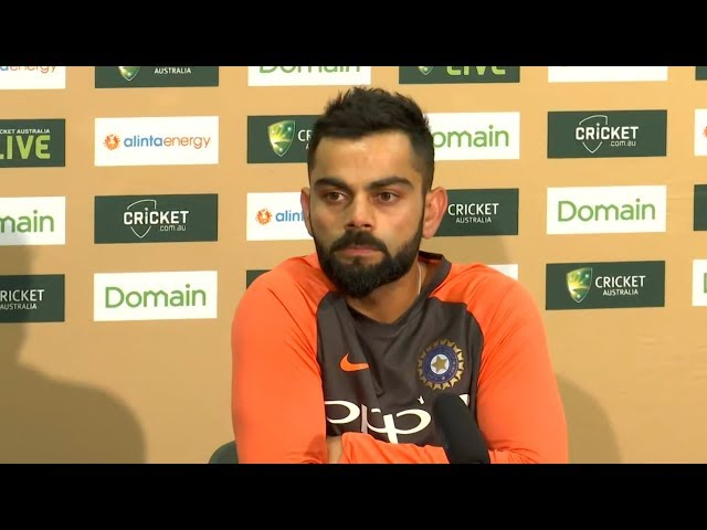 Don't expect this to be a banter-free series - Virat Kohli