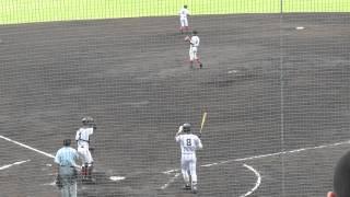 2014年ドラフト候補 田中投手(愛知・豊川高校)の投球 2年秋