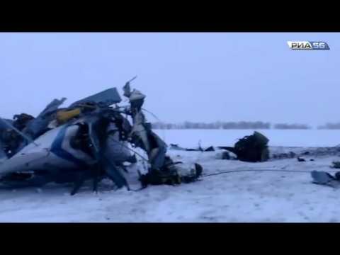 Оренбургская область. Самолет Ан-2 разбился под Орском