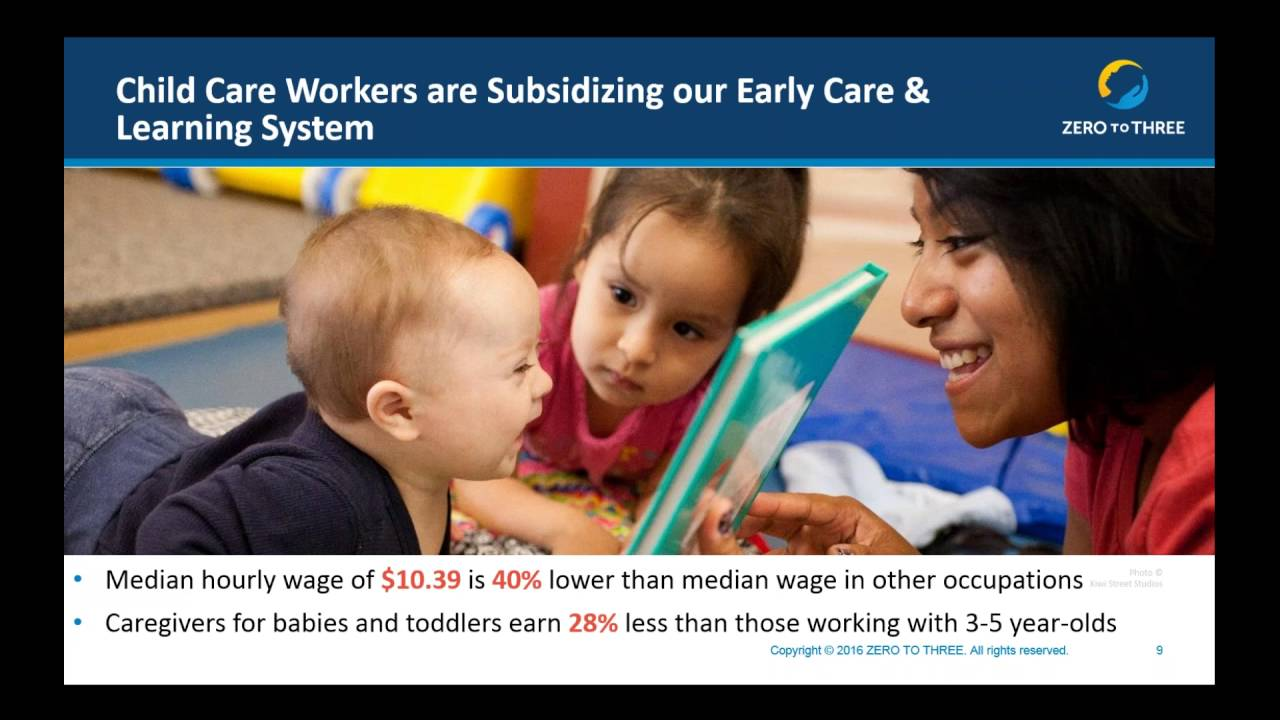 How Quality Infant Toddler Care Impacts Our Nations Success Youtube
