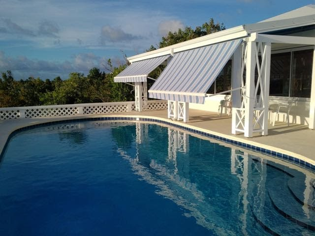 La Colline Villa, 4 Bedroom Hillside Home close to Plum Bay Beach Terres Basses St Martin Caribbean