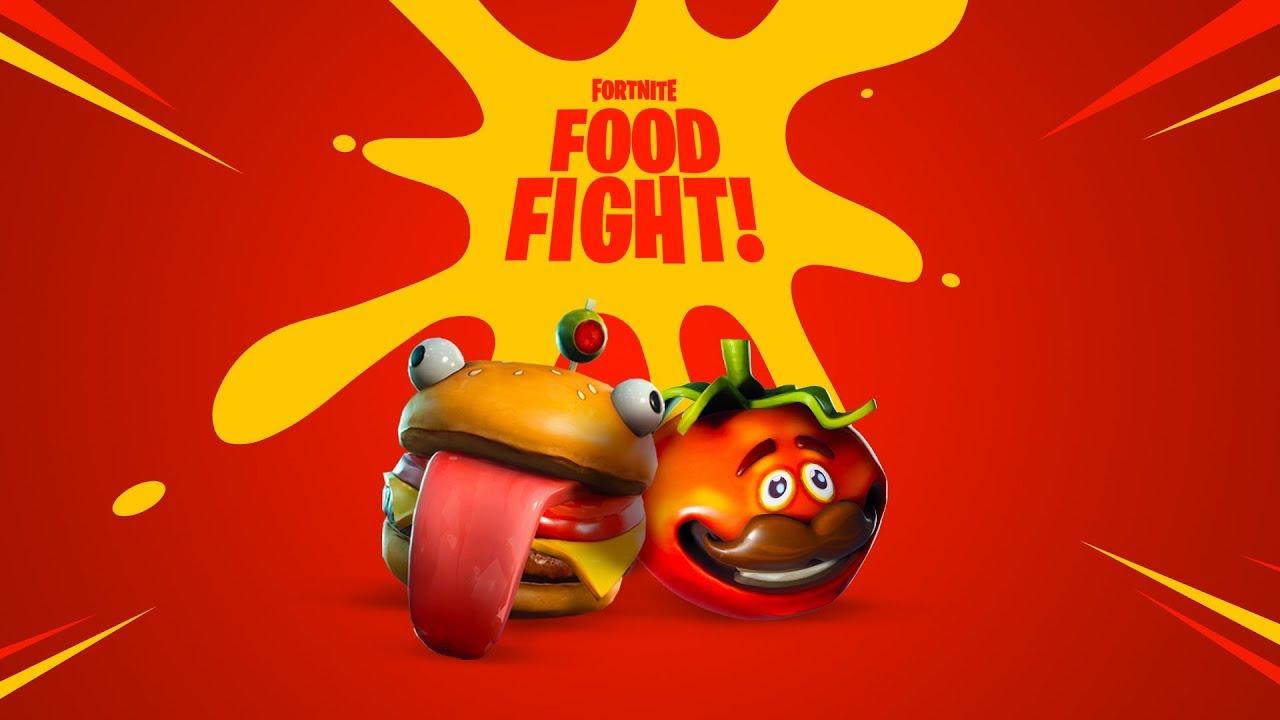 Fortnite Food Fight Youtube