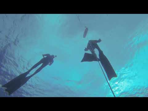 Free dive Instructors on training - Noli - Italy