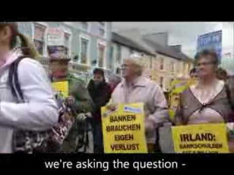 Ballyhea & Charleville bank bondholder bailout protest weeks 69, 70 & 71.wmv