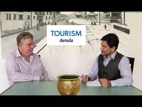 Erik Wolf:Executive Director, World Food Travel Association with Tek B. Mahat