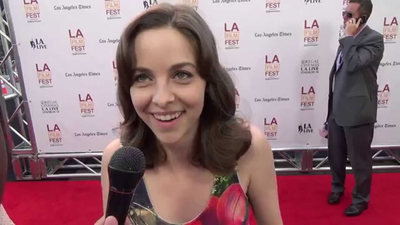 Brittany Curran LAFF 2014 Red Carpet Interview with Brittany Curran for