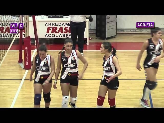 Acquasparta vs Vis Fiamenga - 1° Set