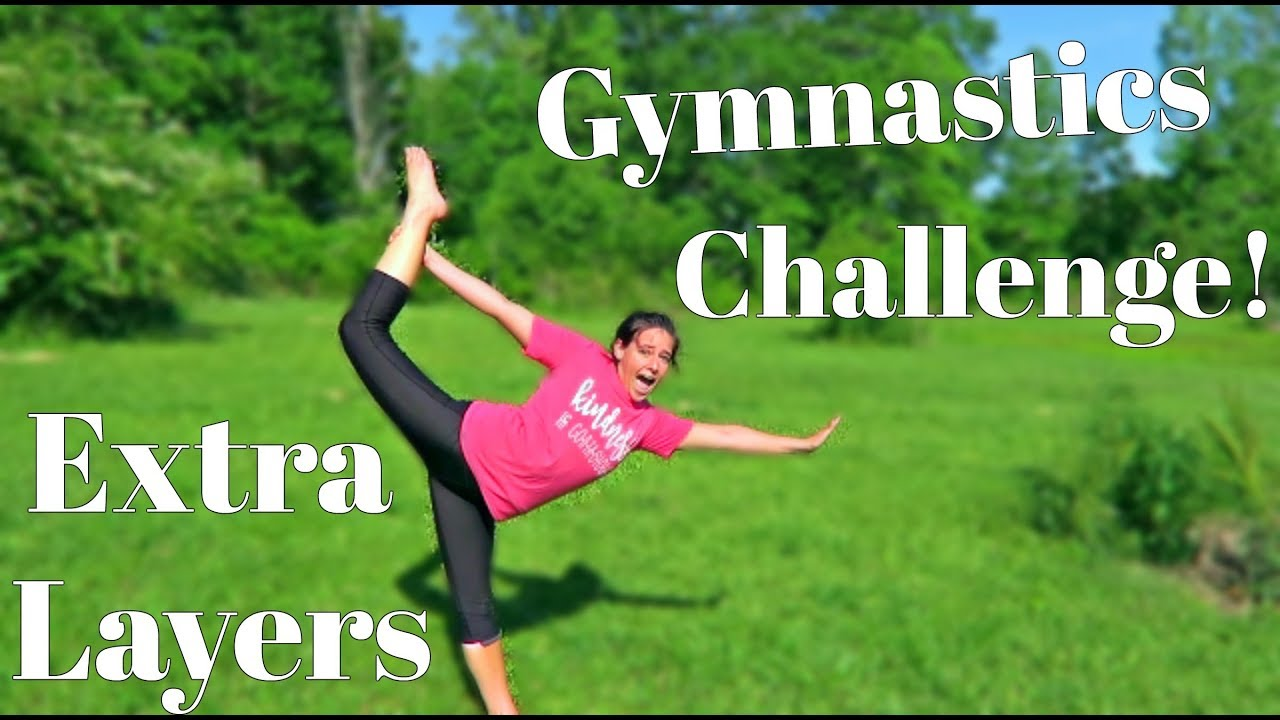 EXTRA LAYERS GYMNASTICS CHALLENGE! | Clothes from Fairyseason