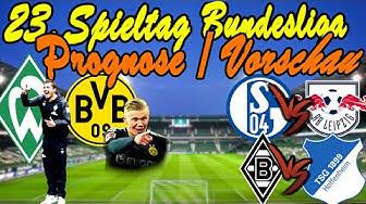 Bundesliga 23.Spieltag Prognose + Vorschau / WIEDER Bremen vs. Dortmund + Schalke gegen Leipzig
