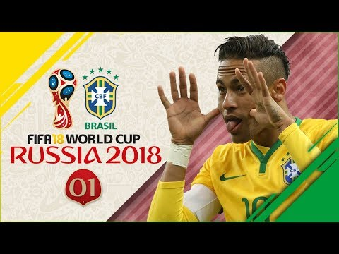 FIFA 18 Russia World Cup wBrazil Ep1  RIDICULOUS GROUP STAGE!!