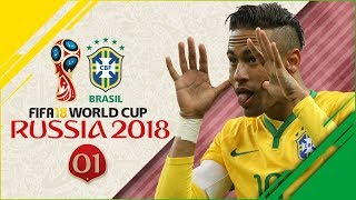 FIFA 18 Russia World Cup w/Brazil Ep1 - RIDICULOUS GROUP STAGE!!