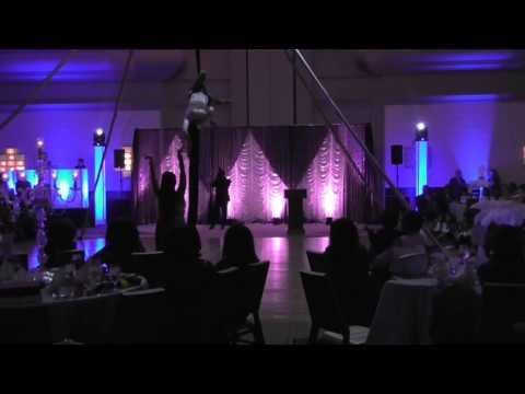 Meenakshi DANCE & Nina Charity (Baltimore Aerial Dance)
