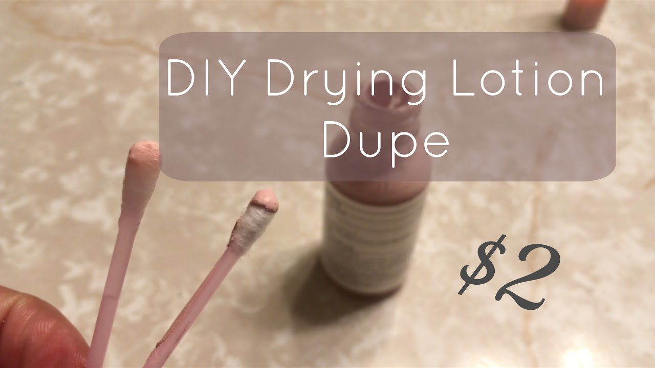 How To Diy 2 Drying Lotion At Home Without Tea Tree Oil