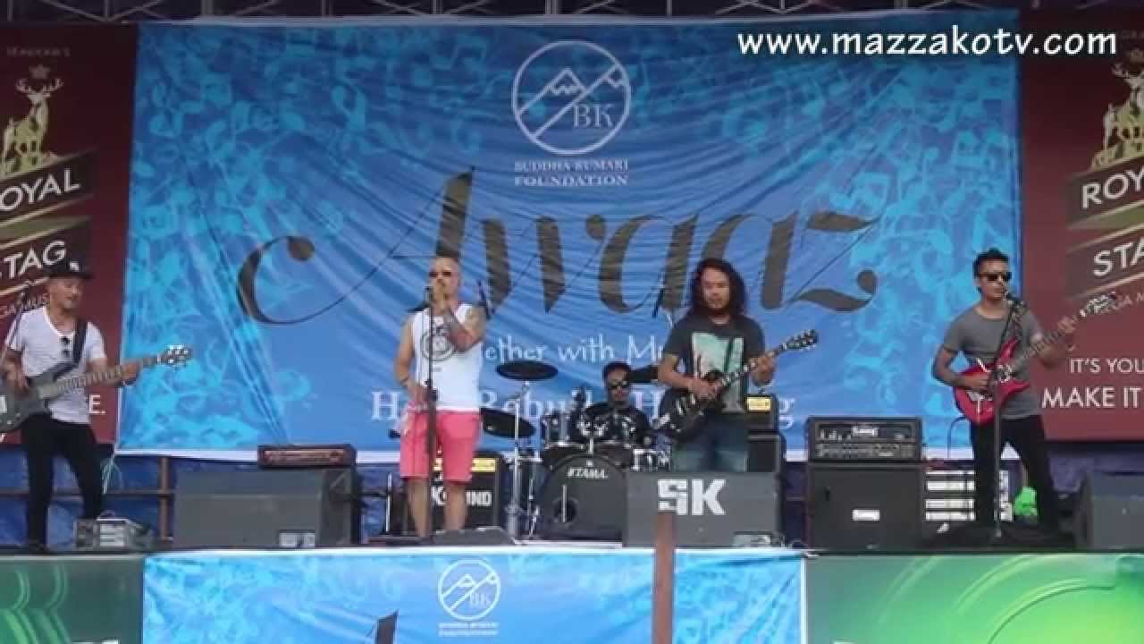 The Outsiders Band Live Concert Aauchhu Bhanera Mazzako Tv