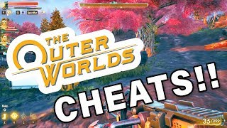 HOW to use CHEATS ► The Outer Worlds