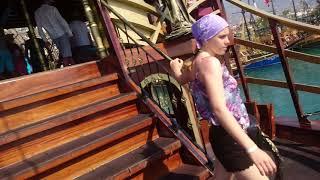 Turkish days. Boat tour.