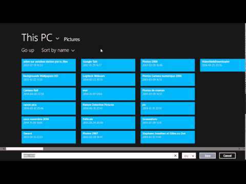 Windows 8.1 How to save file attachments from mail