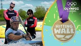 Who can survive an Olympic gold medallist's Canoe Slalom workout? | Hitting the Wall