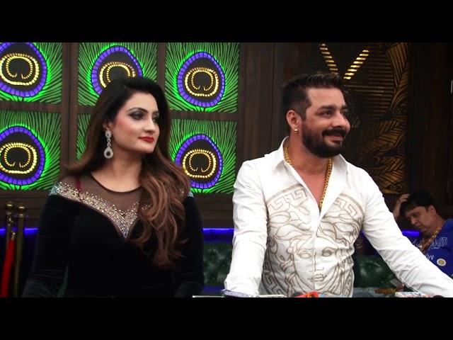 khesarilal Yadav GRAND ENTRY ''Love ka Injection'' Hindustani Bhau, Isha Khan New song Success party