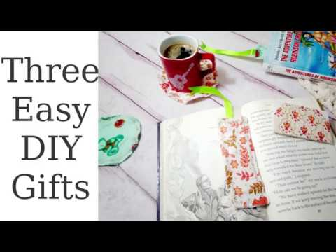 Three Easy DIY Gifts for anyone / Flowers for Mom Open Collaboration