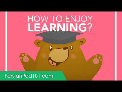 How to Enjoy Learning Persian