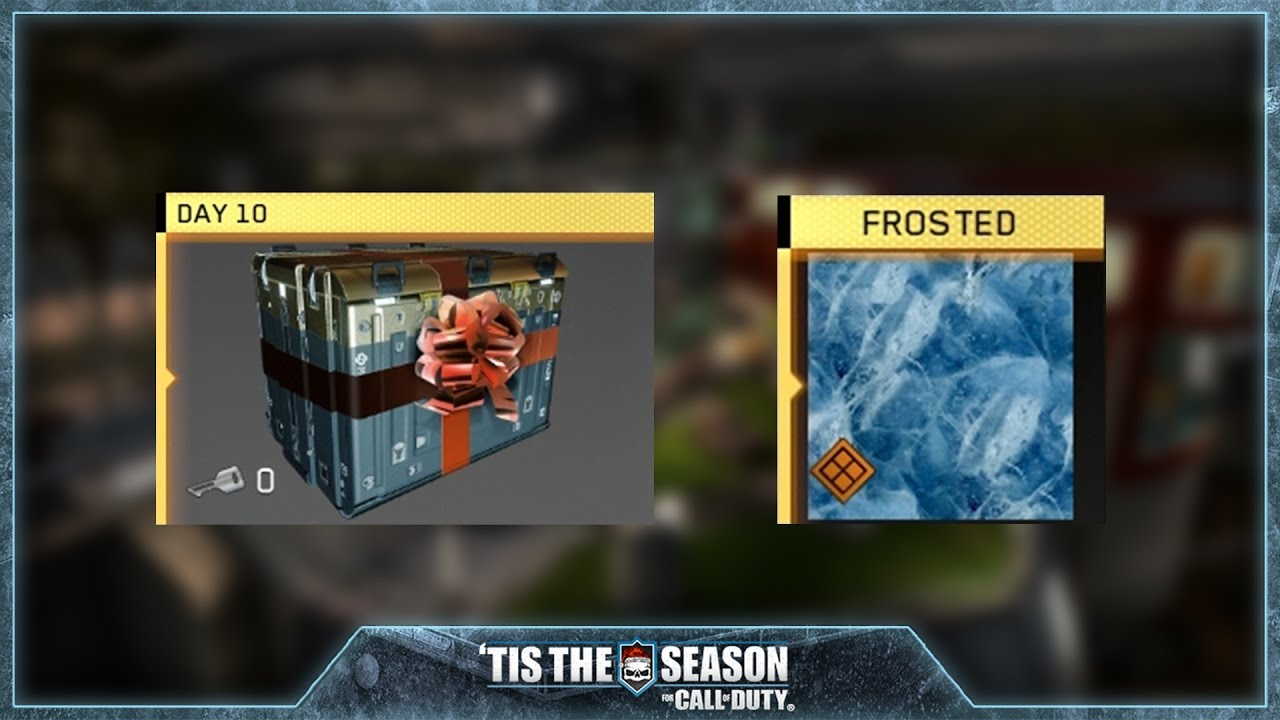 Day 10 Reward - 12 Days of Winter in Infinite Warfare - YouTube