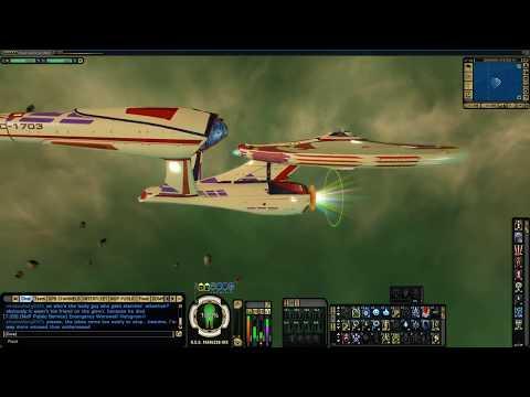 STAR TREK ONLINE - 71K Kelvin Timeline Heavy Command Cruiser [T6] (014 minutes)