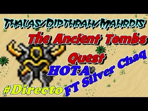 The ancient tombs quest - Helmet of The Ancients #Directo CO