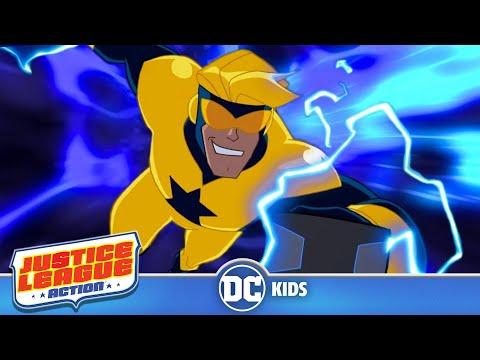 Justice League Action em Português  Booster Gold  DC Kids
