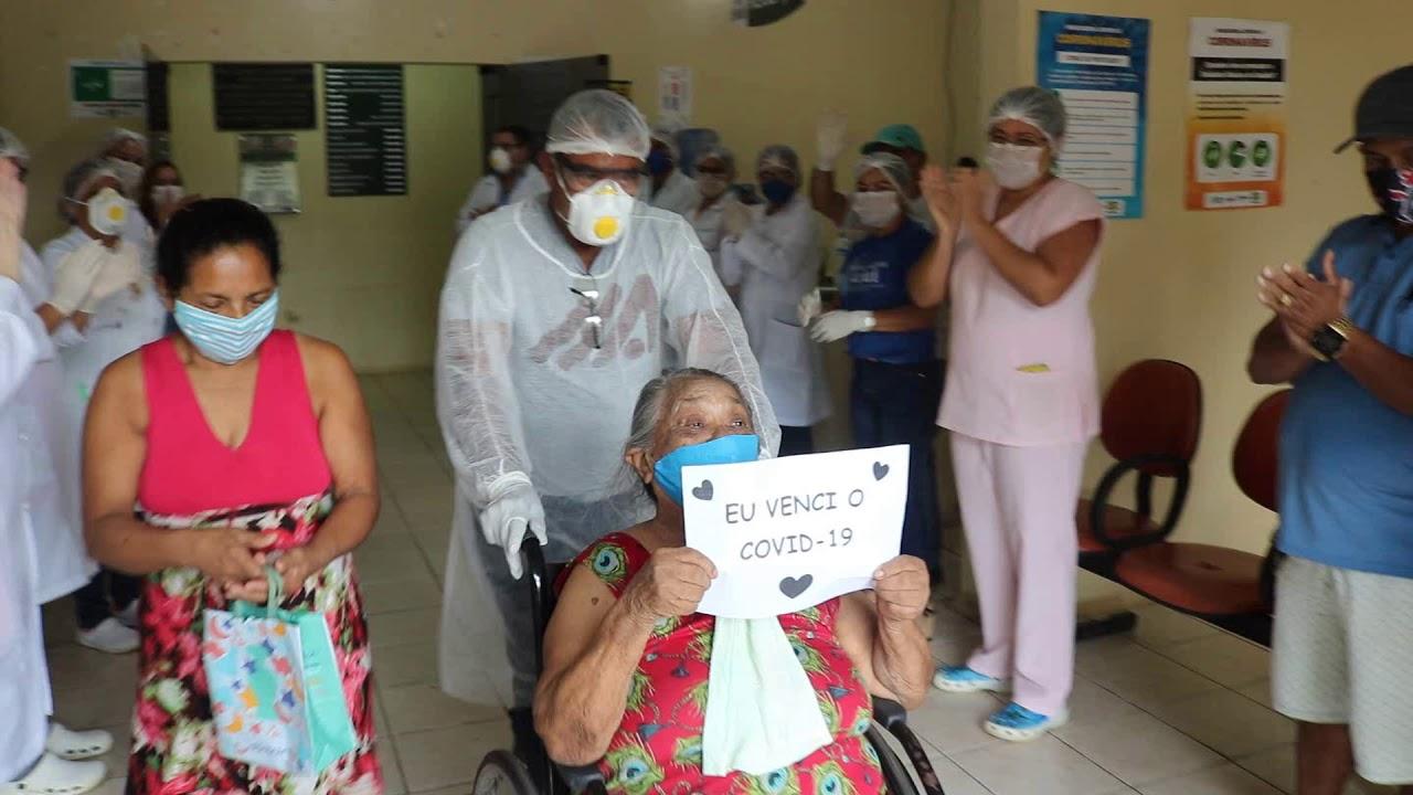 Barcarenenses curados de Covid-19 recebem alta e são homenageados no Hospital Wandick Gutierrez