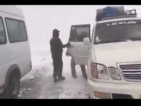 Intensa nevada en Chile