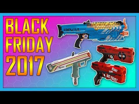 Best Nerf Gun Black Friday Deals 2017!