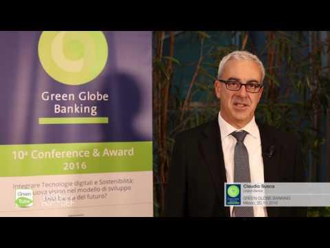 Intervista a Claudio Susca | X Edizione Green Globe Banking Conference & Award