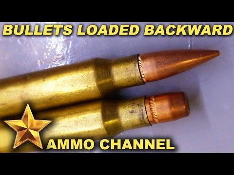 Bullets Loaded Backwards
