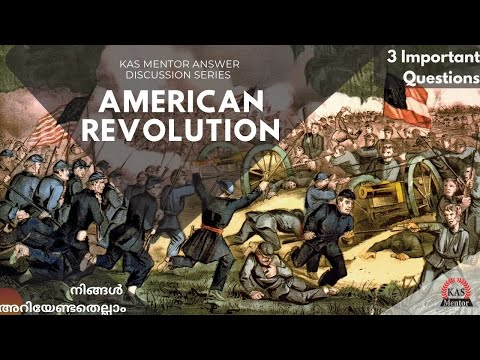 American Revolution| American Civil War|World History | Mains Answer Writing