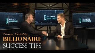 Billionaire Tilman Fertitta on How to Be Successful - with Mark Lack