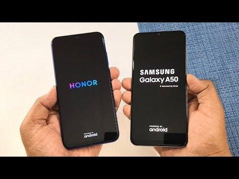 Honor 20i vs Samsung A50 SpeedTest & Camera Comparison