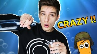 CRAZY WATER CHALLENGE ?! ( Potato Show #5 )