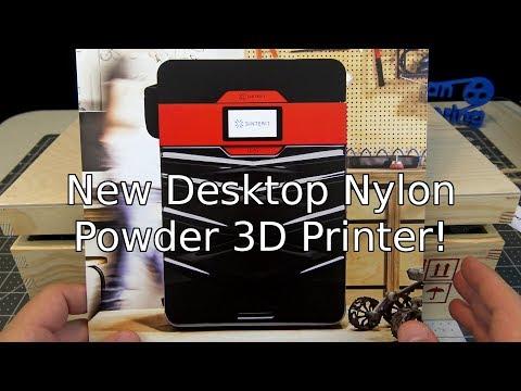New Desktop Nylon Powder 3D Printer!