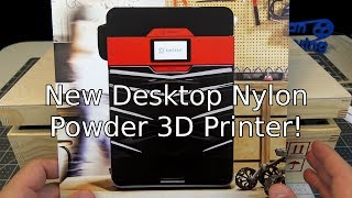 New Desktop Nylon Powder 3D Printer!